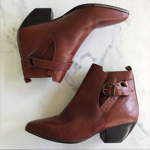 Flings studded ankle boots vintage